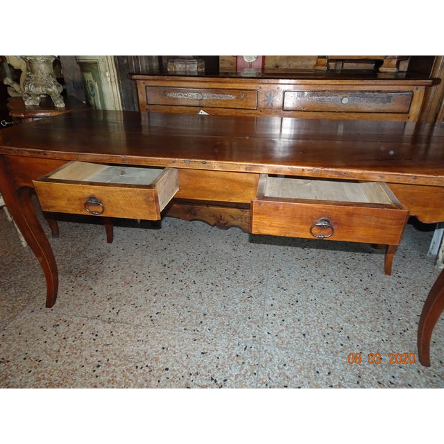 Wood 19th Century French Farm Table For Sale - Image 7 of 13