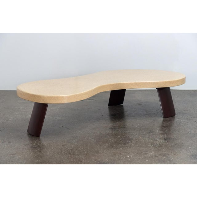 """Johnson Furniture Company Paul Frankl """"Big Foot"""" Model #5028 Table For Sale - Image 4 of 10"""