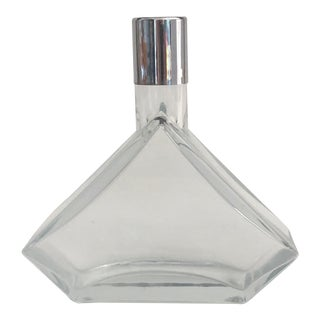 1980s Kosta Boda Modern Glass Decanter For Sale