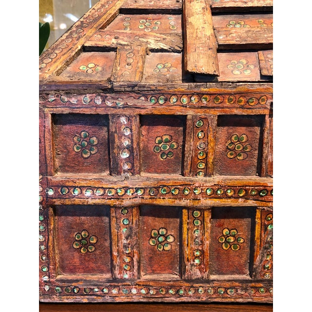 Small Teak Dowry Chest For Sale In Los Angeles - Image 6 of 8