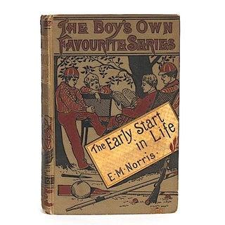 Late 19th Century Antique Book Decor - Australian Adventure Story Preview