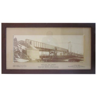 Brighton Beach NY Railroad Bridge Photo For Sale