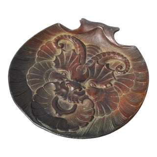 Bronze Decorative Tray in Shell Form For Sale