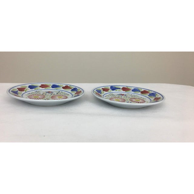 Henriot Quimper Late 20th Century Quimper Plates - A Pair For Sale - Image 4 of 8