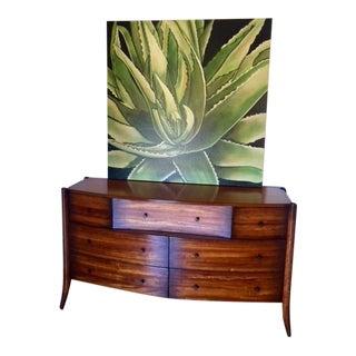 Mid-Century Modern Walnut 8 Drawer Long Dresser / Credenza