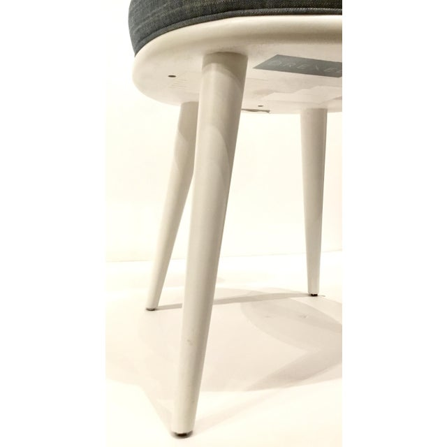 Drexel Heritage Blue-Gray Dwelling Dining Chairs Set of Six For Sale In Atlanta - Image 6 of 7