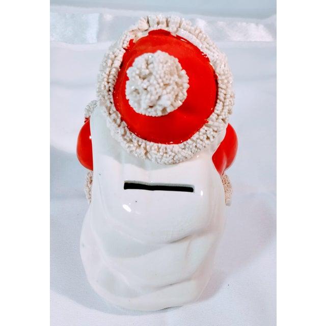 Mid 20th Century Vintage Napco Japan Mid Century Santa Spaghetti Bank Figurine For Sale - Image 5 of 8