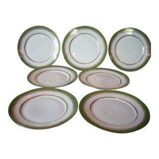 Limoges Dessert Plates - Set of 7 For Sale