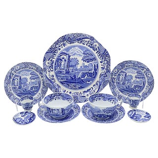 Spode Italian Breakfast For Two - 11 Pieces For Sale