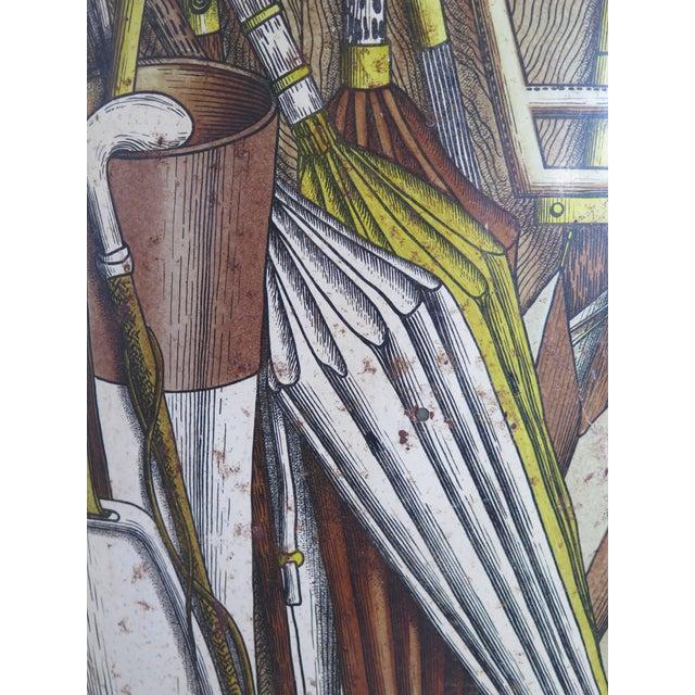 Italian Piero Fornasetti Umbrella Stand For Sale - Image 3 of 10