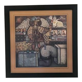 Ernesto Munoz Acosta Framed Print For Sale