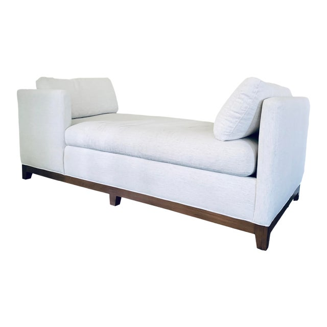 White Lee Industries Chaise For Sale