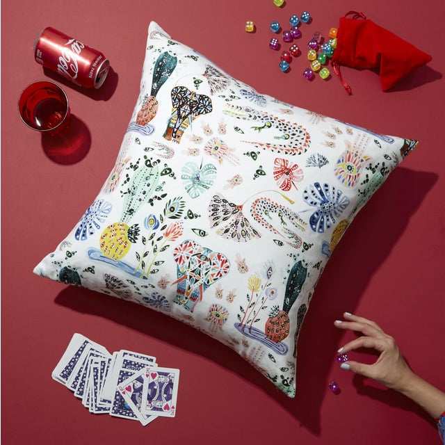 The Balzary print is an eclectic and colorful hand-painted pattern designed exclusively for Pepper Home. Versatile and...