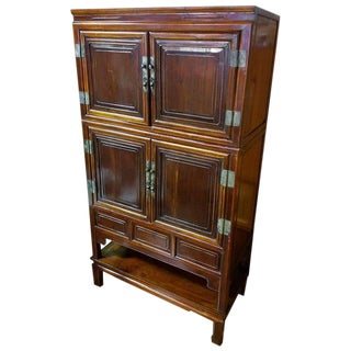 Large Qing Dynasty Storage Cabinet For Sale