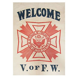Veterans of Foreign Wars Banner