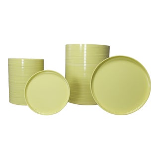 Massimo Vignelli for Heller Dinnerware - Set of 40 For Sale