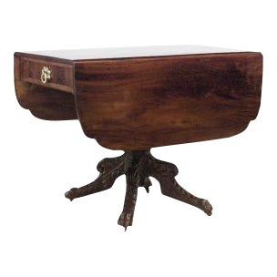 American Federal Mahogany Pembroke Table For Sale