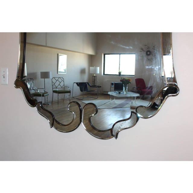 1940s Venetian Style Mirror For Sale In New York - Image 6 of 8