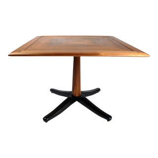 Solid Wood Occasional Table with Butterfly Joinery For Sale