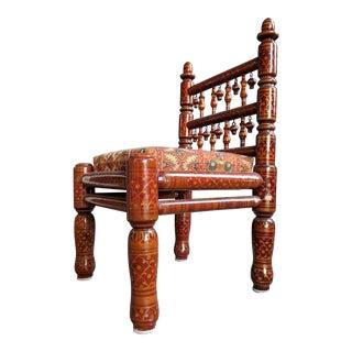 Folk Art Kinetic Children's Chair For Sale