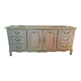 Traditional Shabby Chic Painted Bureau For Sale
