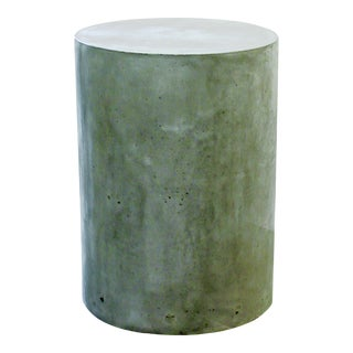 Ben Outdoor Accent Table, Gray For Sale