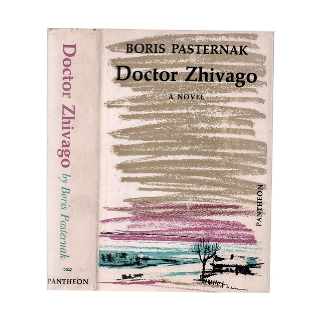 "1950s 1958 ""Doctor Zhivago"" Collectible Book For Sale - Image 5 of 5"
