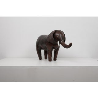 Leather Elephant Ottoman for Abercrombie & Fitch Preview