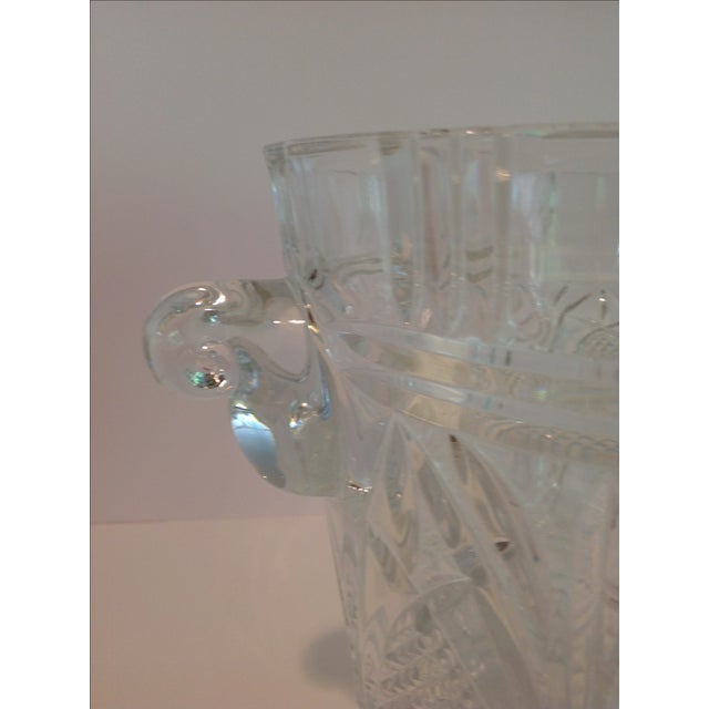 Crystal Ice Bucket For Sale - Image 4 of 6