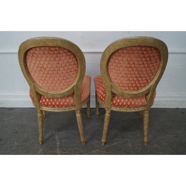 Pearson Venetia French Louis XVI Style Dining Chairs - Set of 4 - Image 4 of 10