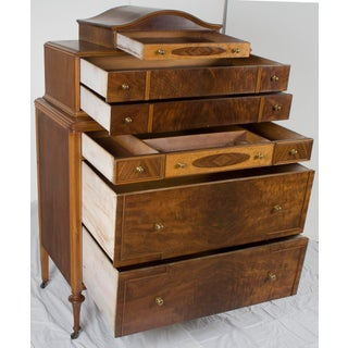 1940s Vintage Art Nouveau Style Chest of Drawers Preview