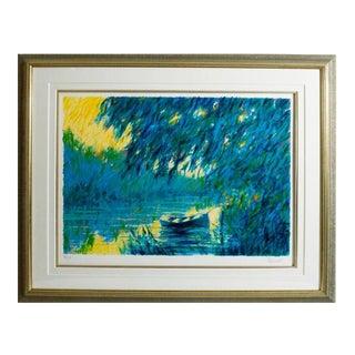 """Aldo Luongo Serigraph """"Serenity"""" For Sale"""