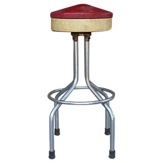 Brady Mfg. Art Deco Bar Stool