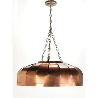 Studio Design Copper Concentric Circles Hanging Light Fixture Preview