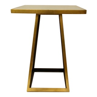 Currey & Co. Modern Mondo Accent Table For Sale