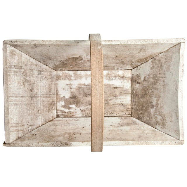 Vintage French Wood Garden Trug - Image 5 of 6