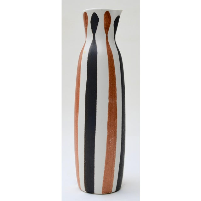 Mid-Century Modern 1950s Frank Mann Studio Pottery Pitcher For Sale - Image 3 of 6