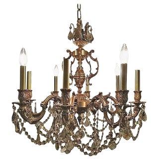 Custom Swarvoski Style Crystal Chandelier For Sale