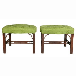 George III Mahogany Footstools - a Pair Preview