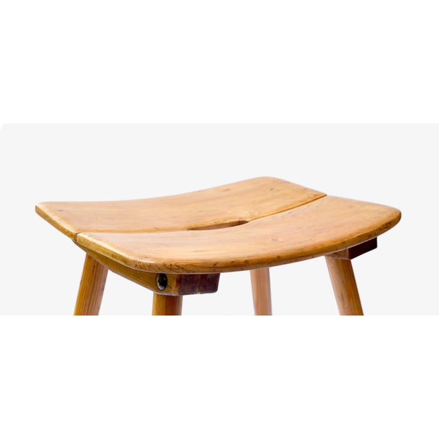 We have three stools available, two in Douglas fir and one in Acacia wood. Designed and produce in Switzerland by Jacob...