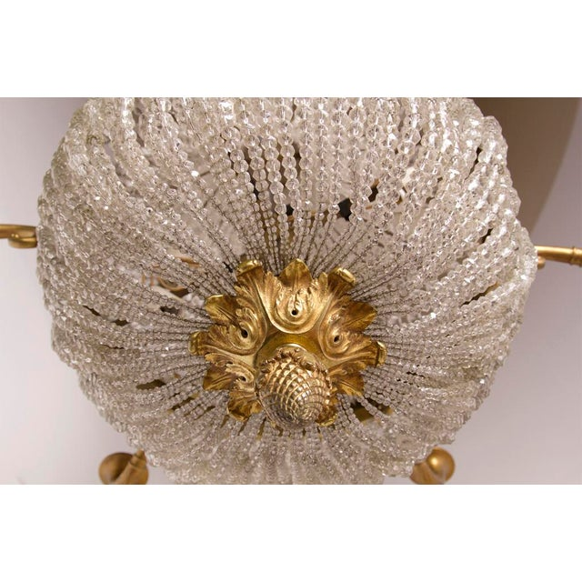 Early 20th Century Elegant Belle Epoque Chandelier For Sale - Image 4 of 5