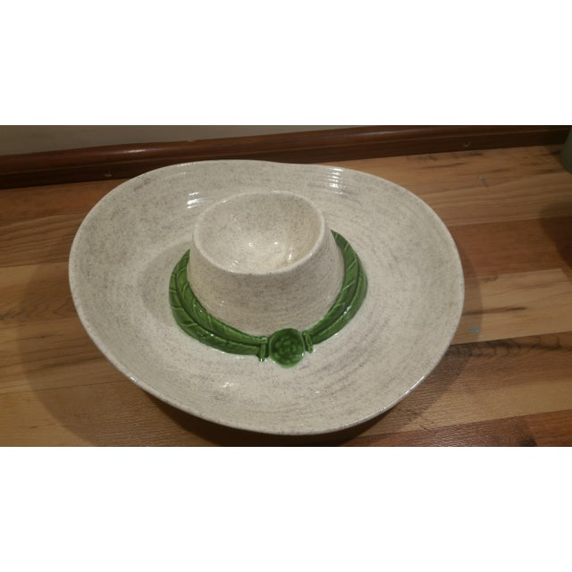 Ceramic Sombrero Chip & Dip Dish - Image 5 of 5
