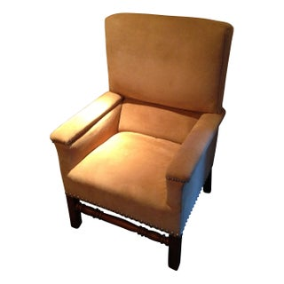 Ralph Lauren Lodge High Back Chair For Sale