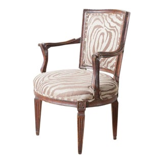 Antique Italian Armchair For Sale