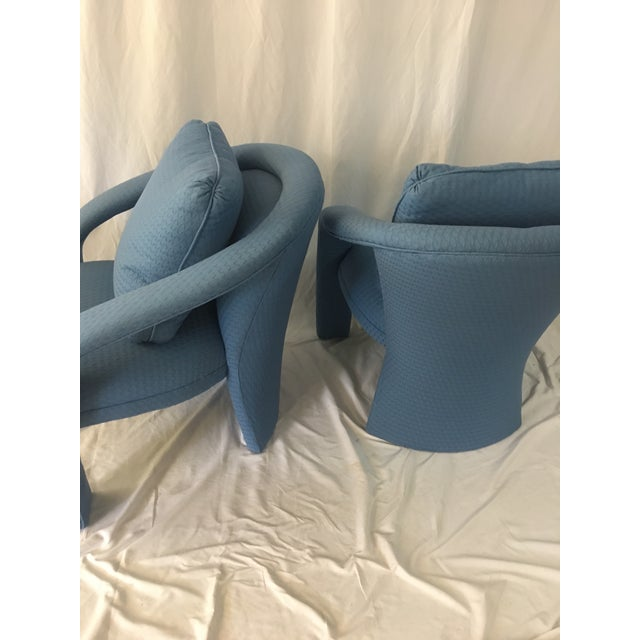 1980s Vintage Carson Chairs- a Pair For Sale - Image 5 of 10