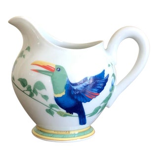 Hermès Porcelain Toucan Creamer For Sale