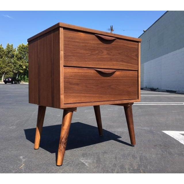 Mid-Century Modern Mid-Century Modern Custom Nightstand For Sale - Image 3 of 5