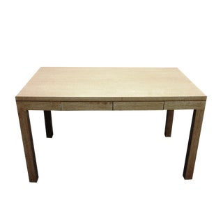 Wooden Parsons Desk For Sale