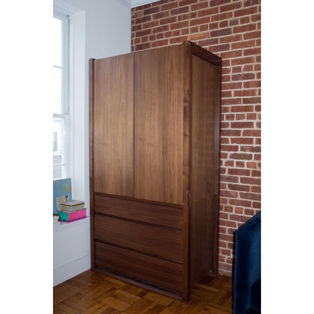 2010s Modern Design Within Reach Matera Armoire For Sale - Image 5 of 5