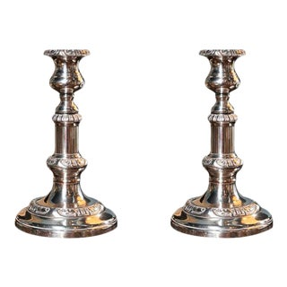 Sheffield Candlesticks - A Pair For Sale
